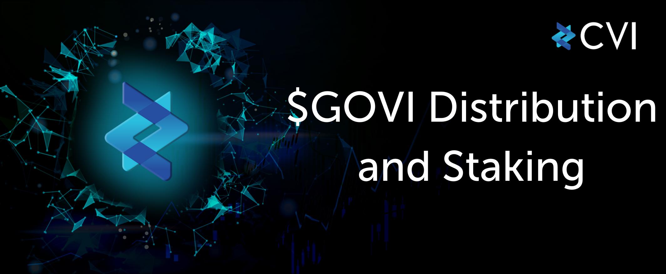 Let's earn $ETH and $USDT by staking $GOVI tokens on cvi.finance
